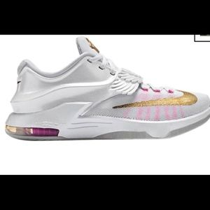 RARE NIKE KD Aunt pearl 🌸 breast cancer addition